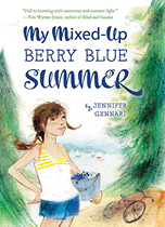 Book cover: My Mixed-Up Berry Blue Summer