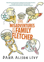 Book cover: The Misadventures of the Family Fletcher