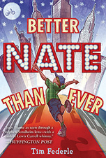 Book cover: Better Nate Than Ever