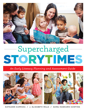 Book cover: Supercharged Storytimes