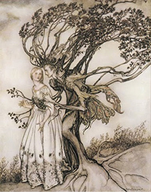 """""""The Old Woman in the Wood"""""""