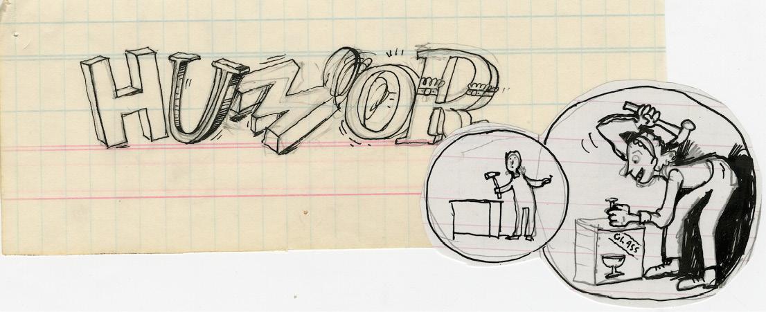 "Sketch of ""humor."""