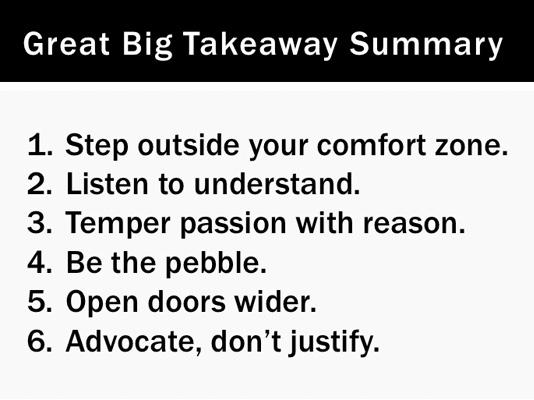 Great Big Takeaway Summary