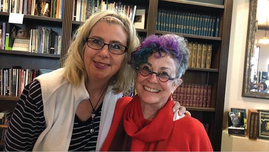 Sharon Verbeten and Barbara Joosse.