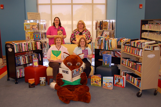 Florence County (SC) Library System staff, 2011 Bookapalooza recipient. Photo courtesy of Paula Childers.