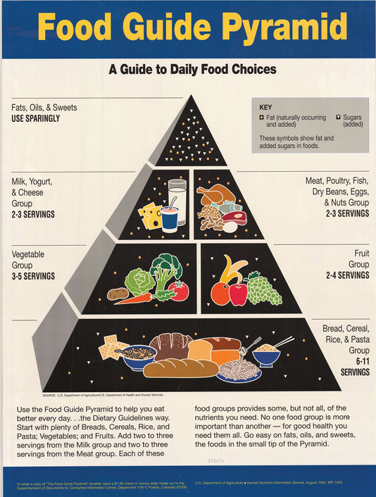 The 1992 Food Pyramid