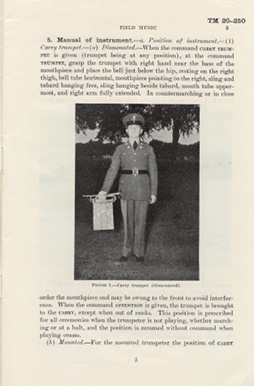 Page 5 of Technical Manual TM 20–250: Field Music, 1940.
