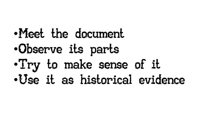 "Slide 2. ""Analyzing Documents,"" DocsTeach"