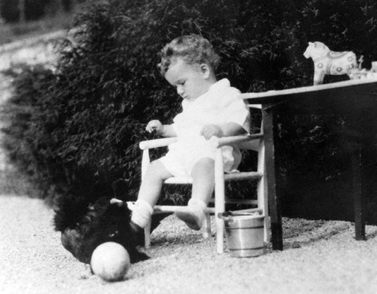 Figure 1. Charles Linbergh Jr., who was kidnapped and murdered by Bruno Hauptmann in 1932. Source: Federal Bureau of Investigation, Charles Lindbergh Baby, (1930s)