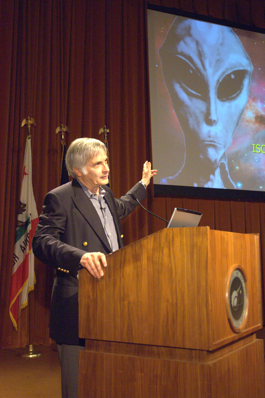 """Dr. Seth Shostak, of the SETI Institute presents a Director's Colloquium at NASA Ames titled """"When Will We Discover the Extraterrestrials?"""""""
