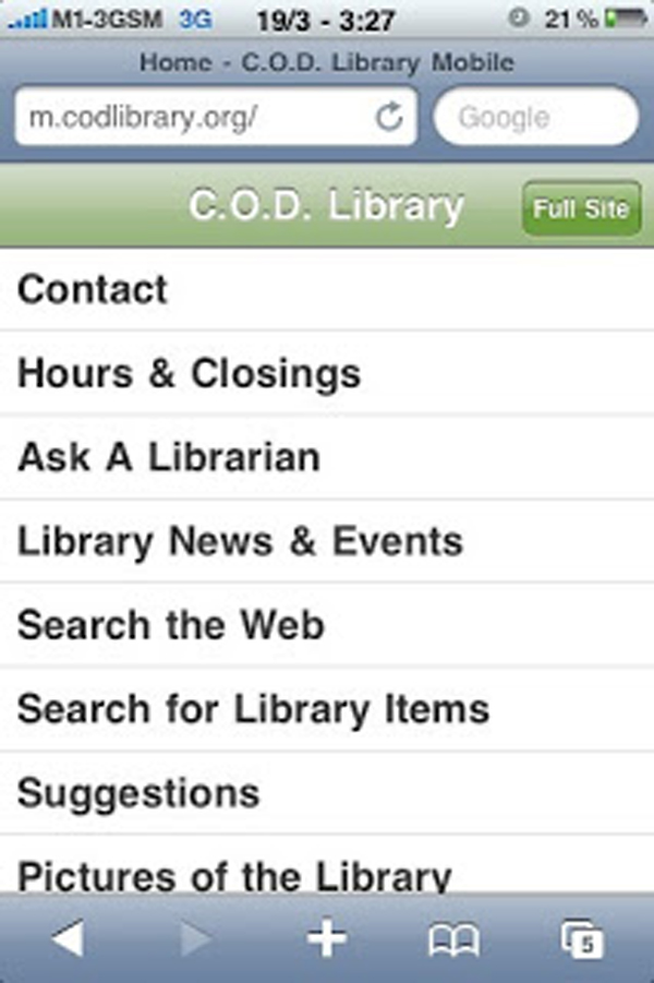 Chapter 3: The Present and Future of the Library Mobile Experience
