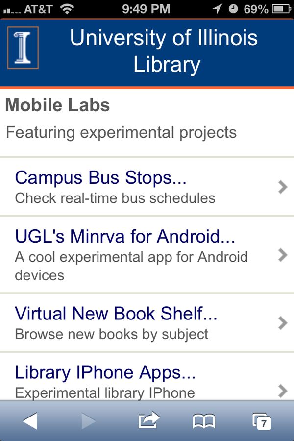Chapter 3: The Present and Future of the Library Mobile
