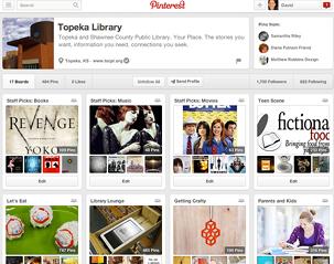 Figure 2.5. Topeka's Pinterest account