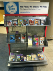 Figure 2. Staff Picks Display