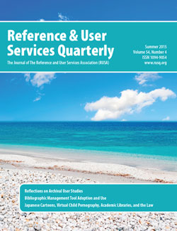 RUSQ volume 54, number 4 (Summer 2015)