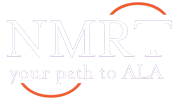 "New Members Round Table logo: ""NRMT: your path to ALA"""